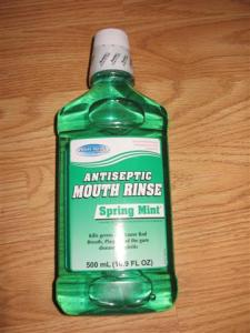 Dollar store mouthwash
